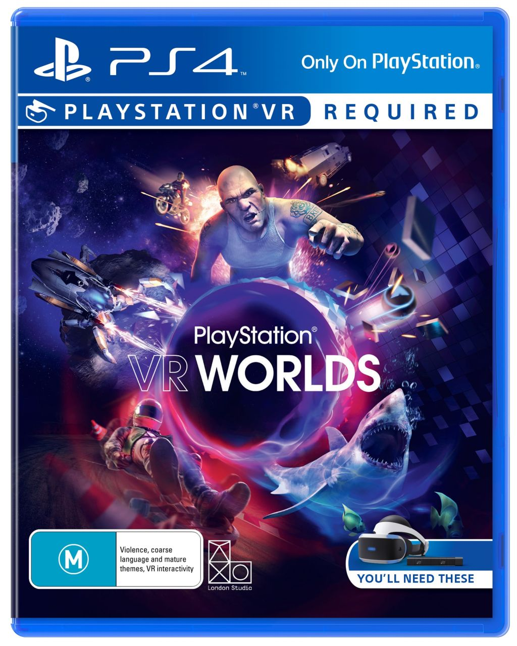 Sony - PS4 Playstation VR Worlds Game