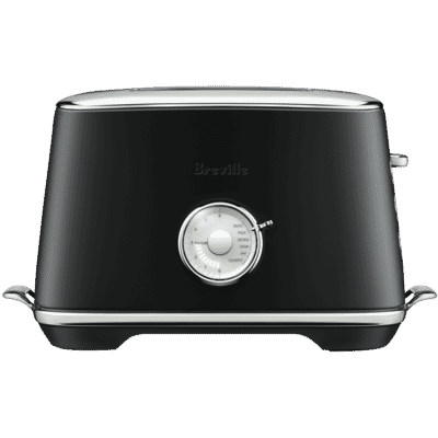 Breville - The Toast Select Luxe 2 Slice Toaster - Black Truffle